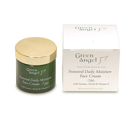 Green Angel Seaweed Daily Moisture Face Cream with Jasmine, Neroli & Vitamin E