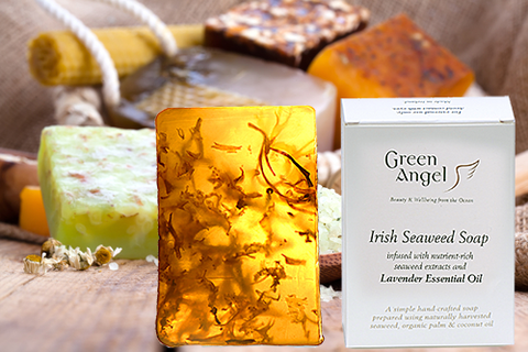 Seaweed Soap with Lavender Essential Oil