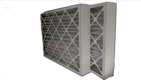 "2 x 4"" Best Air Pro Merv 8 Pleated Furnace Filter (Two - 4"" Furnace Filter every 3 months)"