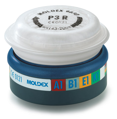 Moldex Easylock Filters for the 7000 & 9000 Series