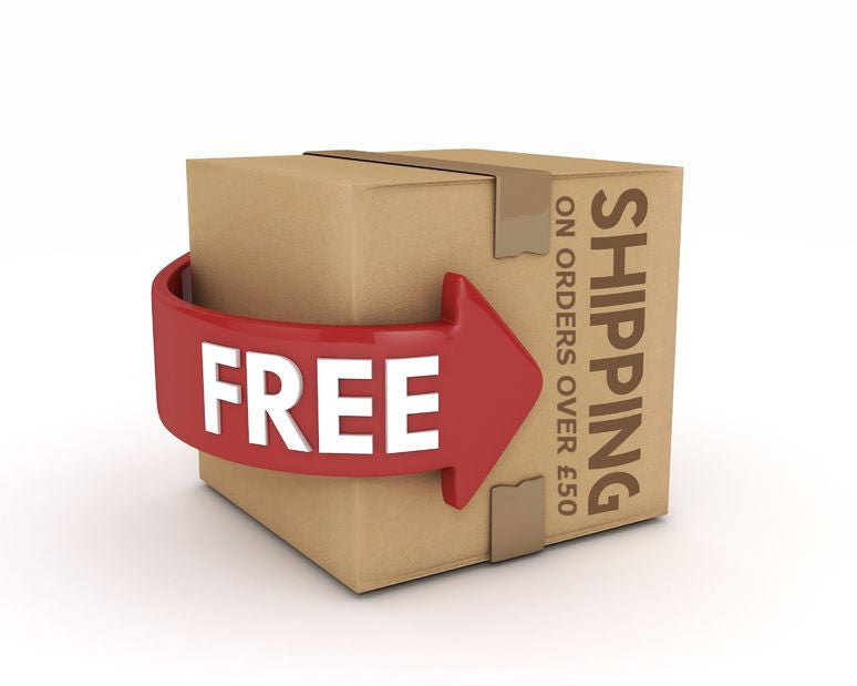 FREE SHIPPING ANNOUNCED