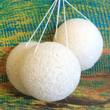 Natural Japan Style Konjac Sponges - Genii Retail Therapy Ltd - 1