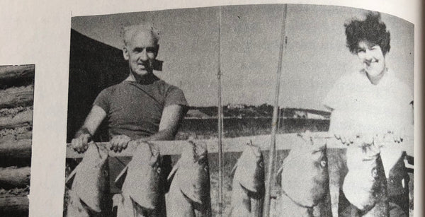 fishing in pleasant bay and chatham harbor in the 1950s