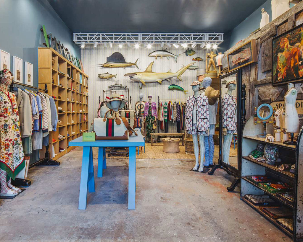 Melet Mercantile in Montauk with Gucci
