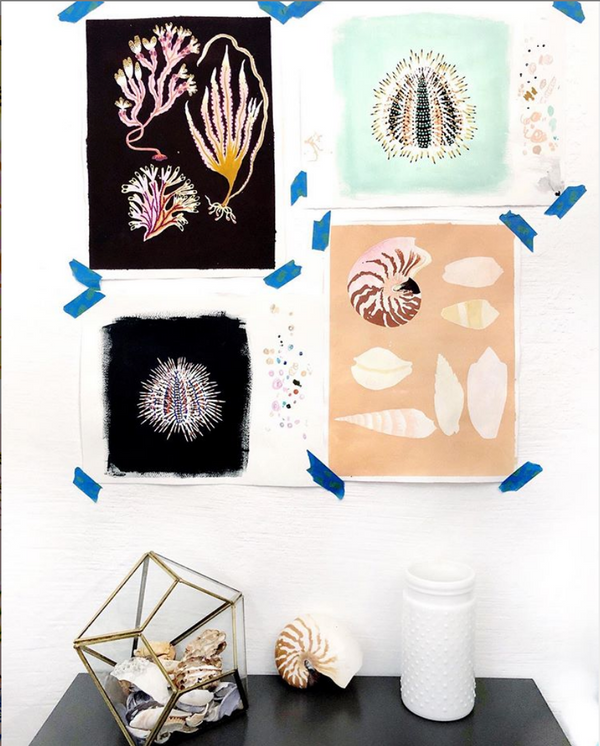Sailormade Sea Spritz Blog: Sarah Gordon Wondergarden designs