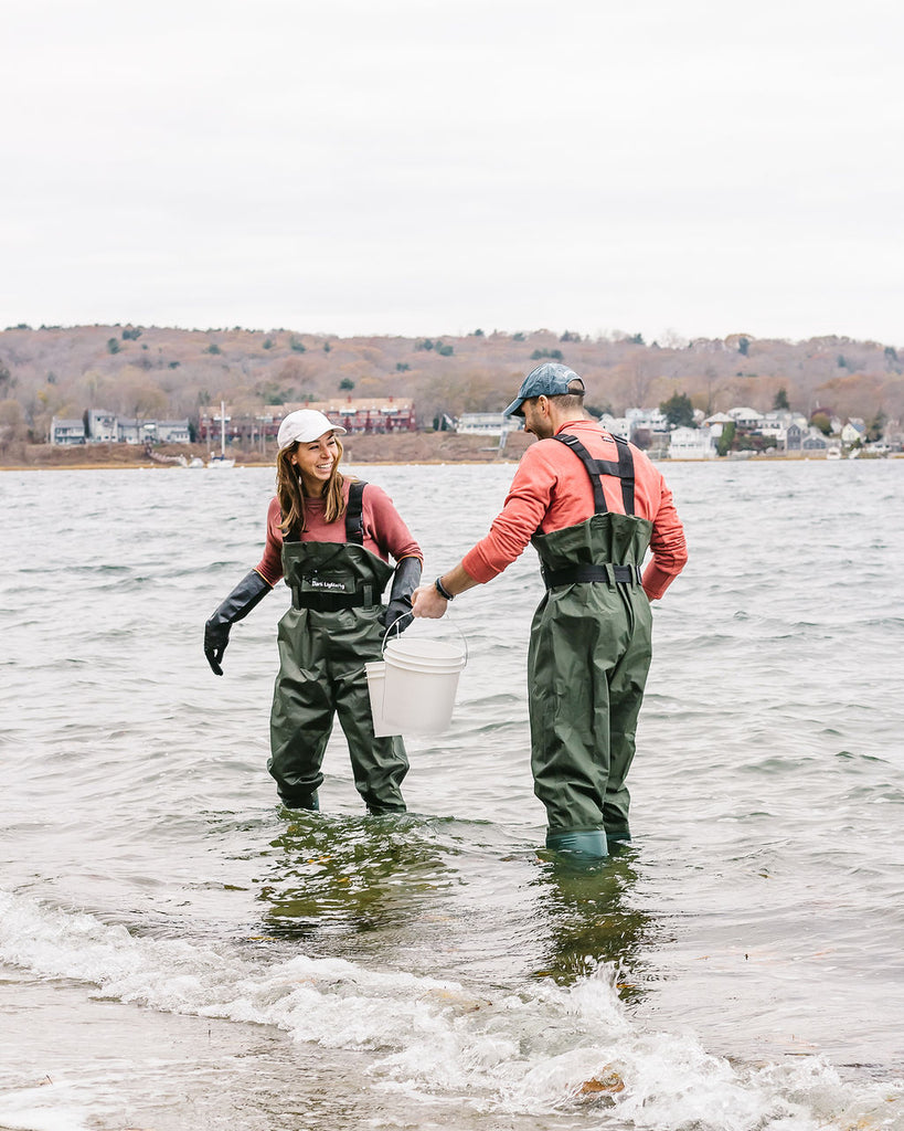 Oyster Fishing in New England