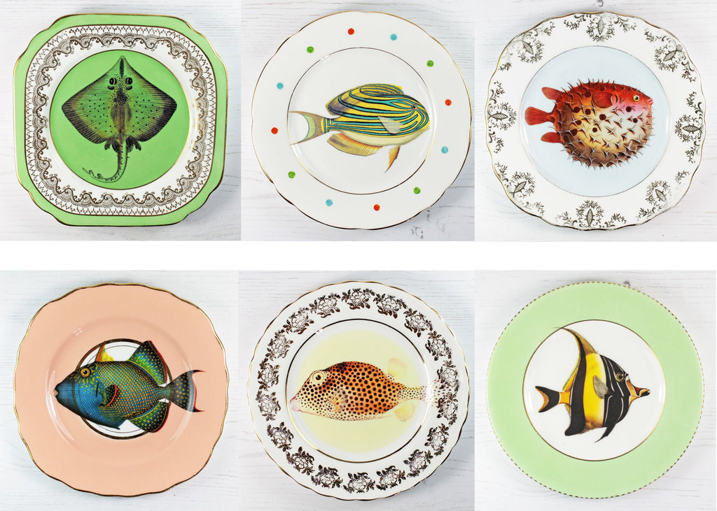 There's Something Fishy About These Dessert Plates