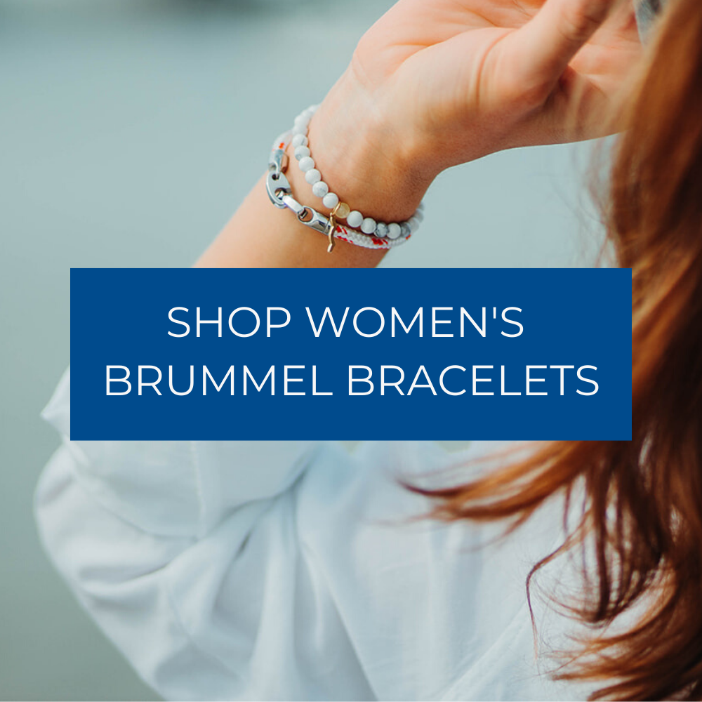shop women's brummel bracelets with rope and leather wraps