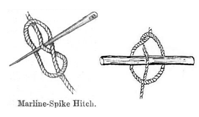 marlinspike hitch knot