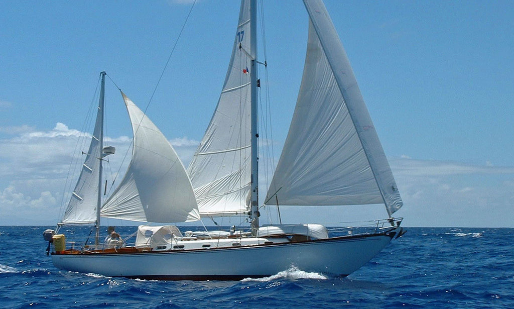 yawl rig sailboat