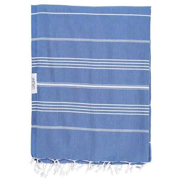 LuaLoha Turkish Towel Classic Denim
