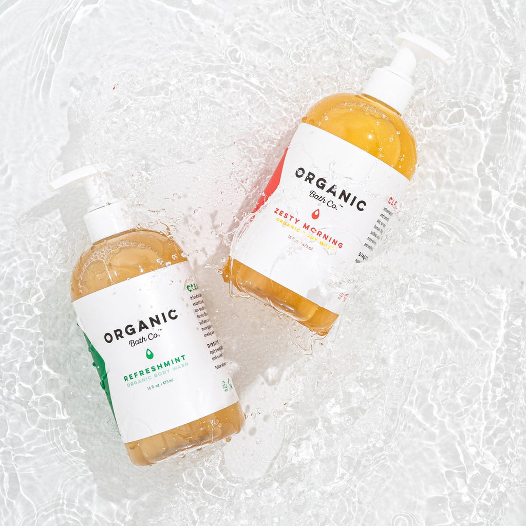 boston based business, woman founded organic bath co