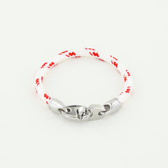 Volley Single Wrap Rope Bracelet with Stainless Steel Brummels