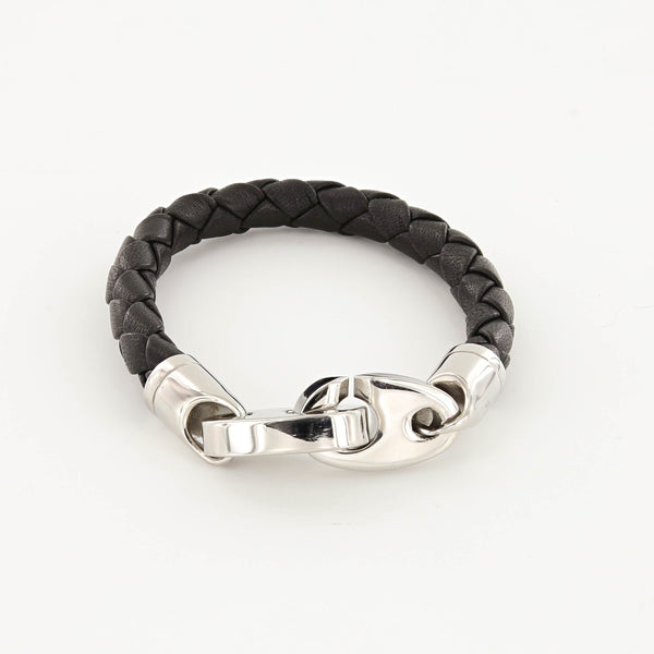 Commander Leather Bracelet