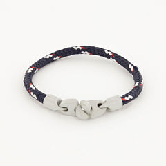 Signal Sport Single Wrap Rope Bracelet with Powder Coated Brummels