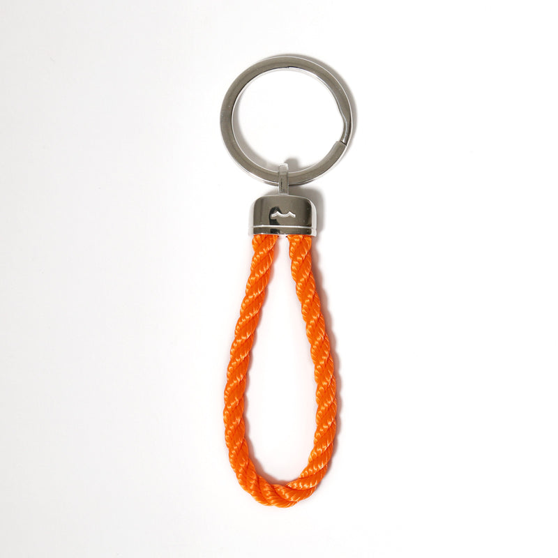 Pete's Point Keychain in Buoy Orange Rope