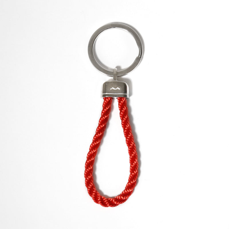 Pete's Point Keychain in Red Rope