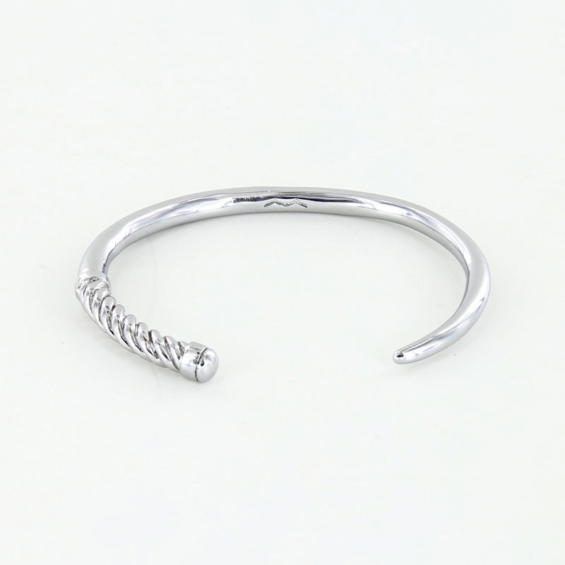 Women's Slim Fid Cuff in Polished Silver