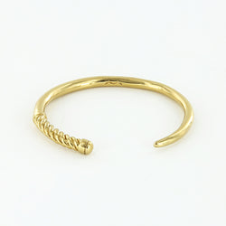 Women's Slim Fid Cuff in Polished Brass