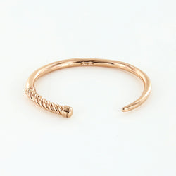 Women's Slim Fid Cuff in Polished Rosegold