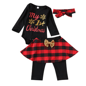 Plaid 1st Christmas
