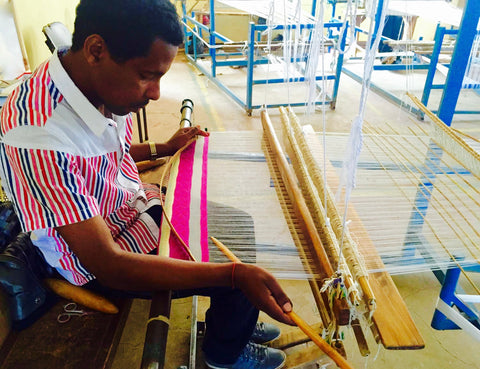 One of our artisans working on the Almaz Choker