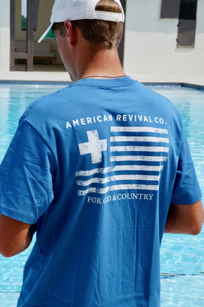 For God & Country Tee