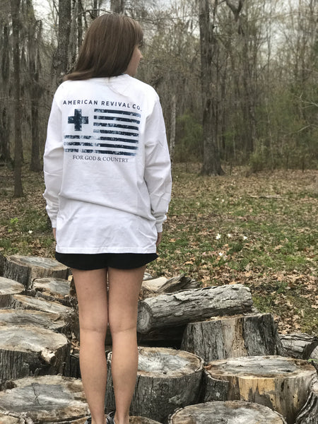 For God & Country Long-sleeve Tee