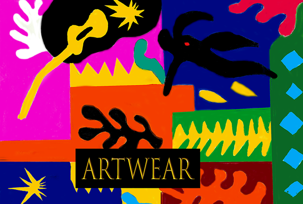 'ArtWear' Limited Edition Women's Clothing and Accessories