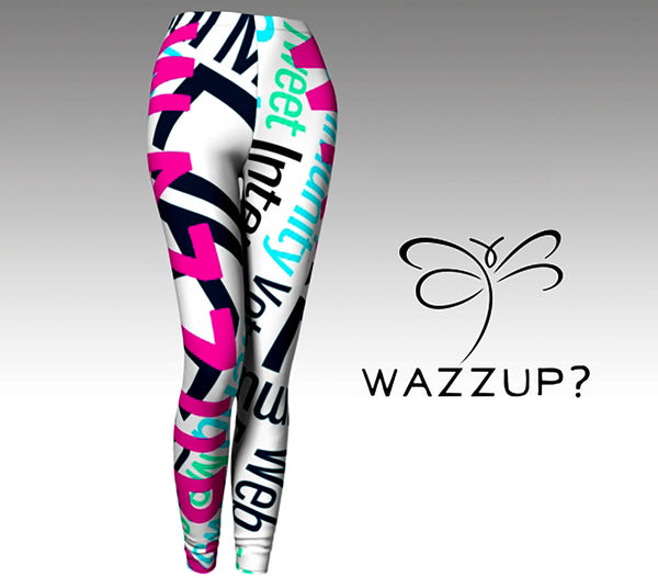 'WazzUp? FanWear Leggings