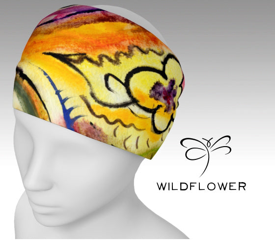 'Wildflower' 'ArtWear' Headband