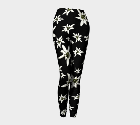 'Black Edelwiess' Leggings