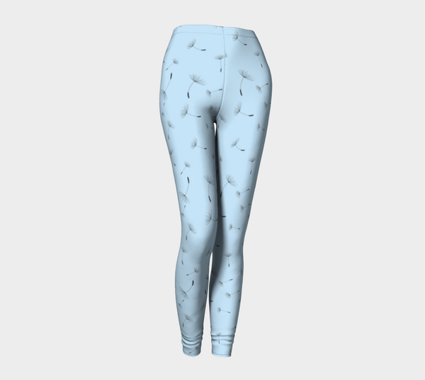 'Baby Blue Spring' Leggings