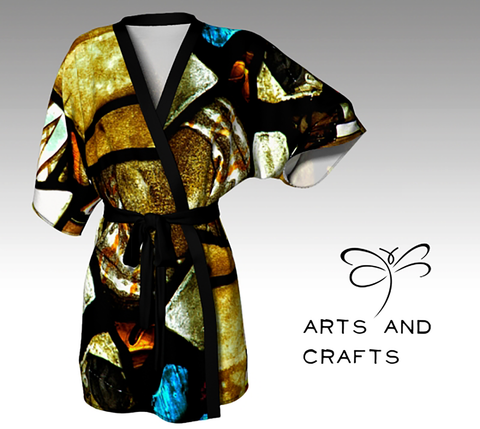 Arts and Crafts Women's  'ArtWear' Kimono Robe