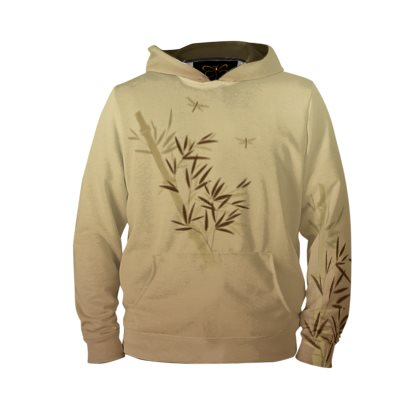 Bamboo Dragonfly  Pull-Over Hoodie