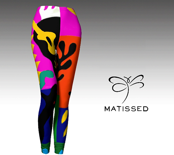 'Matissed' Limited Edition Women's 'ArtWear' leggings