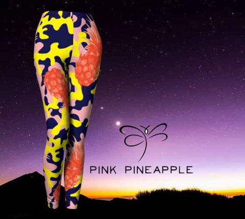 'Pink Pineapple' Leggings