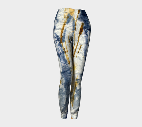 'Crinkled Cattails' Leggings