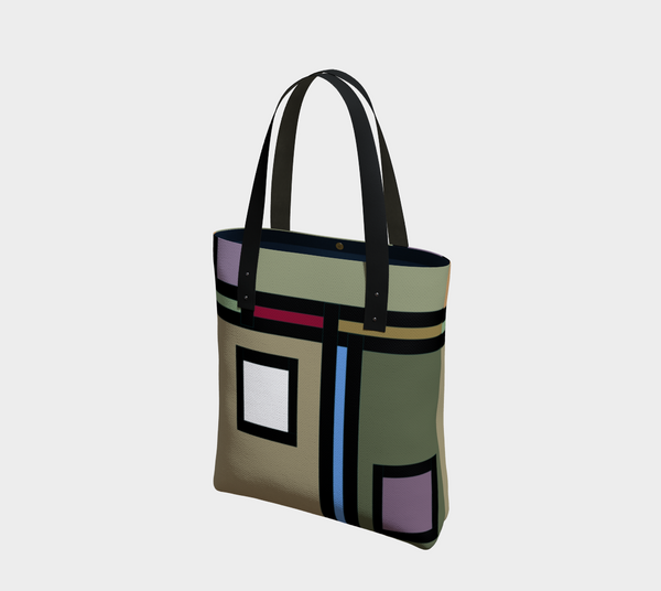 'A Thin Line' Tote Bag
