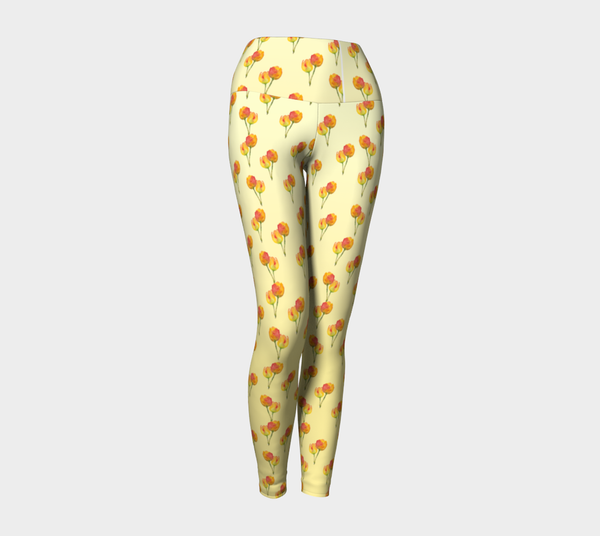 'Flower Shower' Yoga Leggings