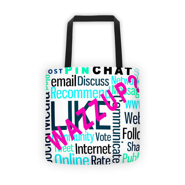 'WazzUp?' Tote bag