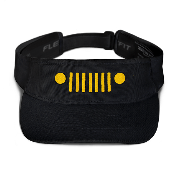 I.A.J.T. (gold embroidery) Visor