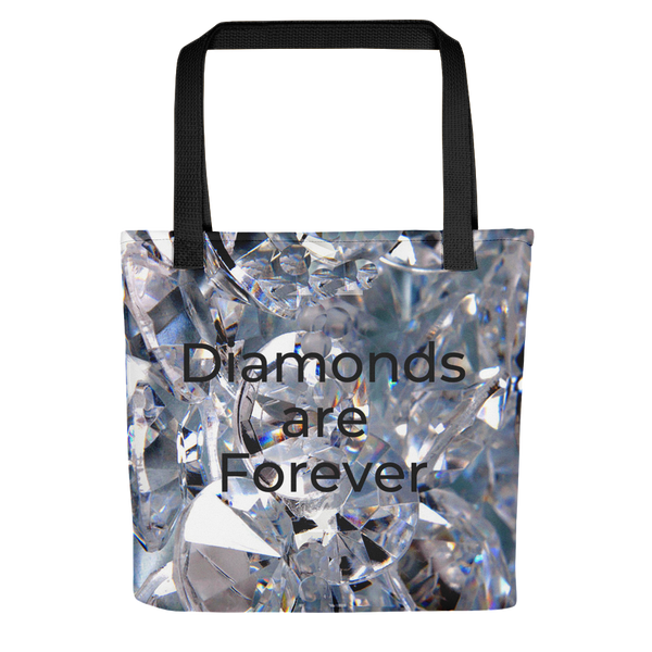 'Diamonds are Forever' Tote bag