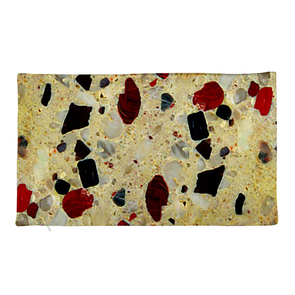 'Pudding Stone' Rectangular Pillow Case only