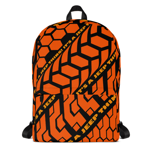 'I.A.J.T.' (orange) Backpack