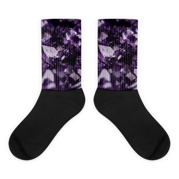 'Amethyst' (February) Socks