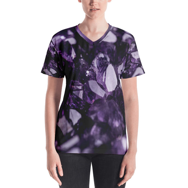 'Amethyst' Women's V-neck