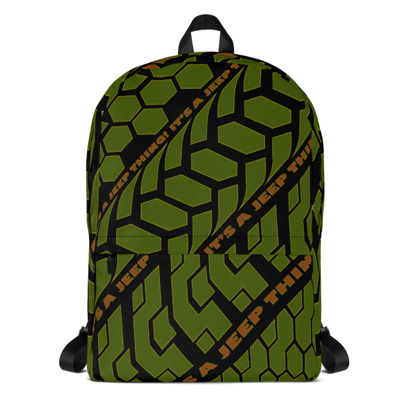 'I.A.J.T.' (camo) Backpack