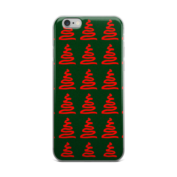 Holiday Memories iPhone case