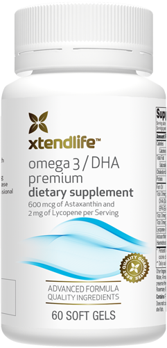 Omega 3 DHA Fish Oil Premium